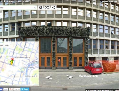 Street View, instantno!