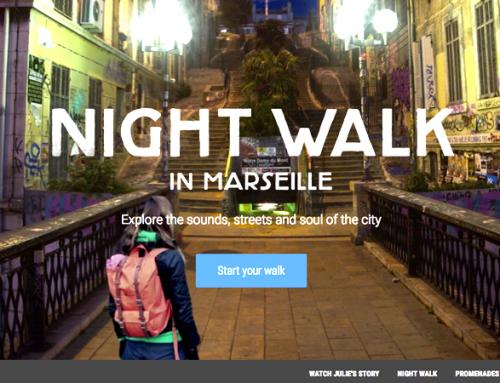 Nočni sprehod skozi Marseille